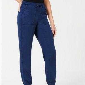 Style& Co Button Detail Cargo Jogger Pants